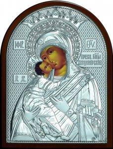 Икона Богородица «Владимирская» (12*16см.)